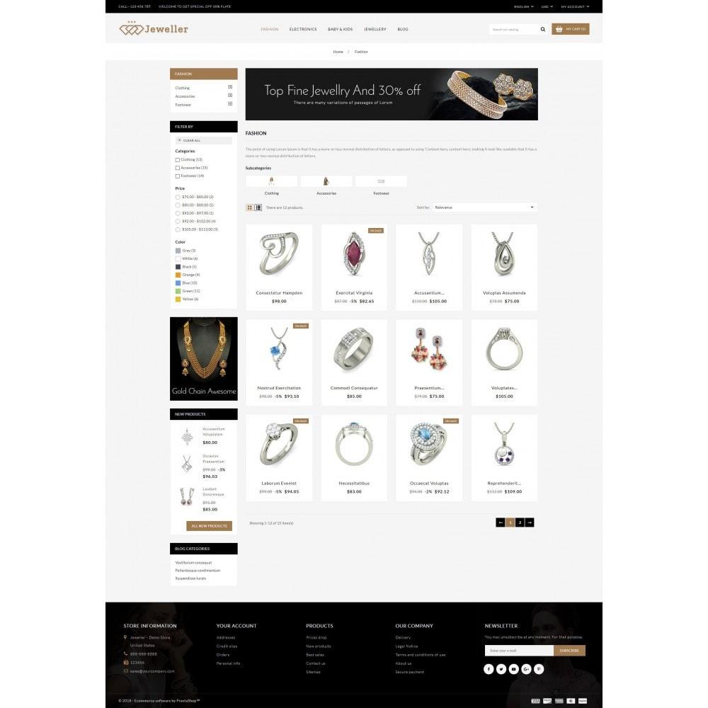 theme - Sieraden & Accessoires - Jeweller Store - 3