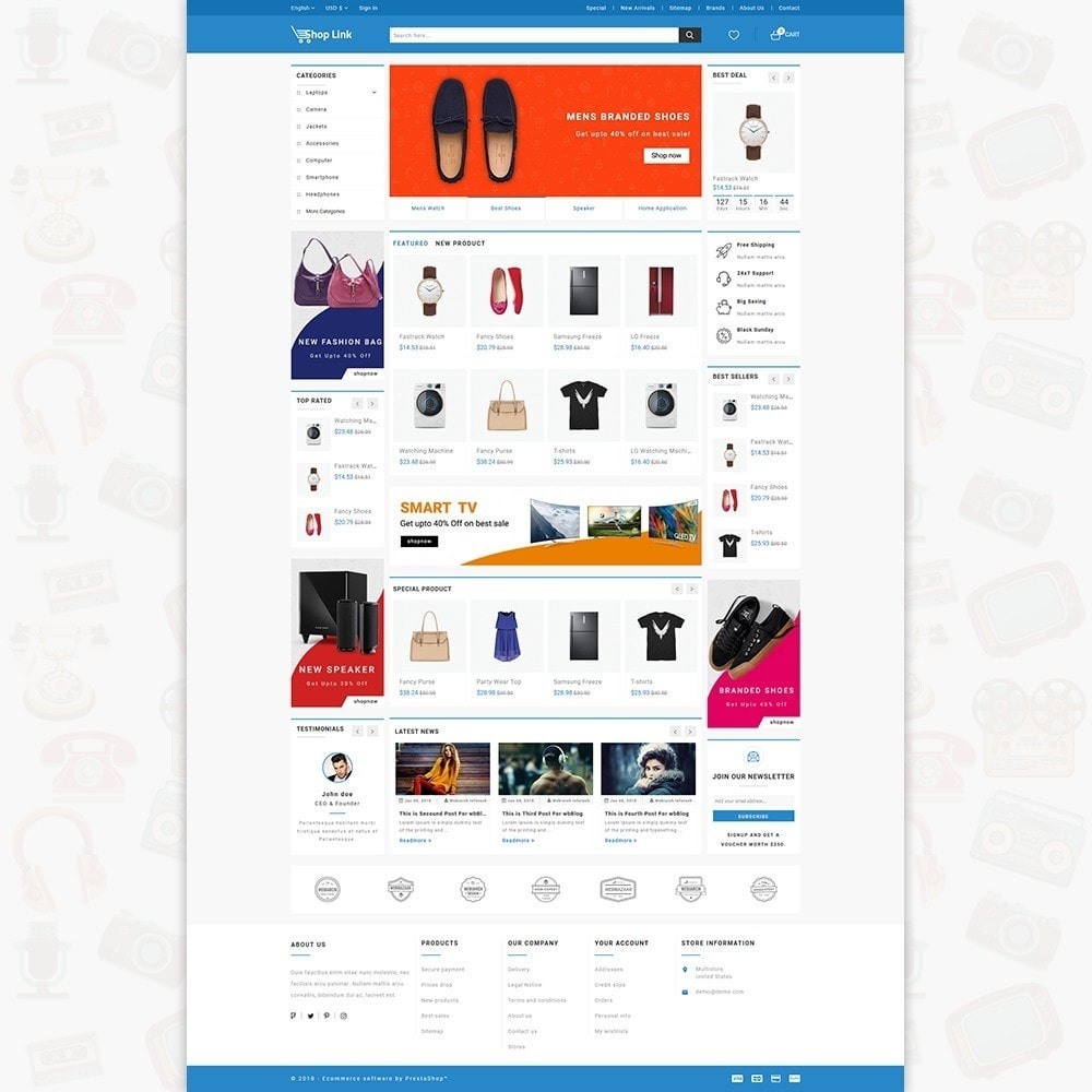 theme - Eletrônicos & High Tech - ShopLink - The Electronics Store - 2