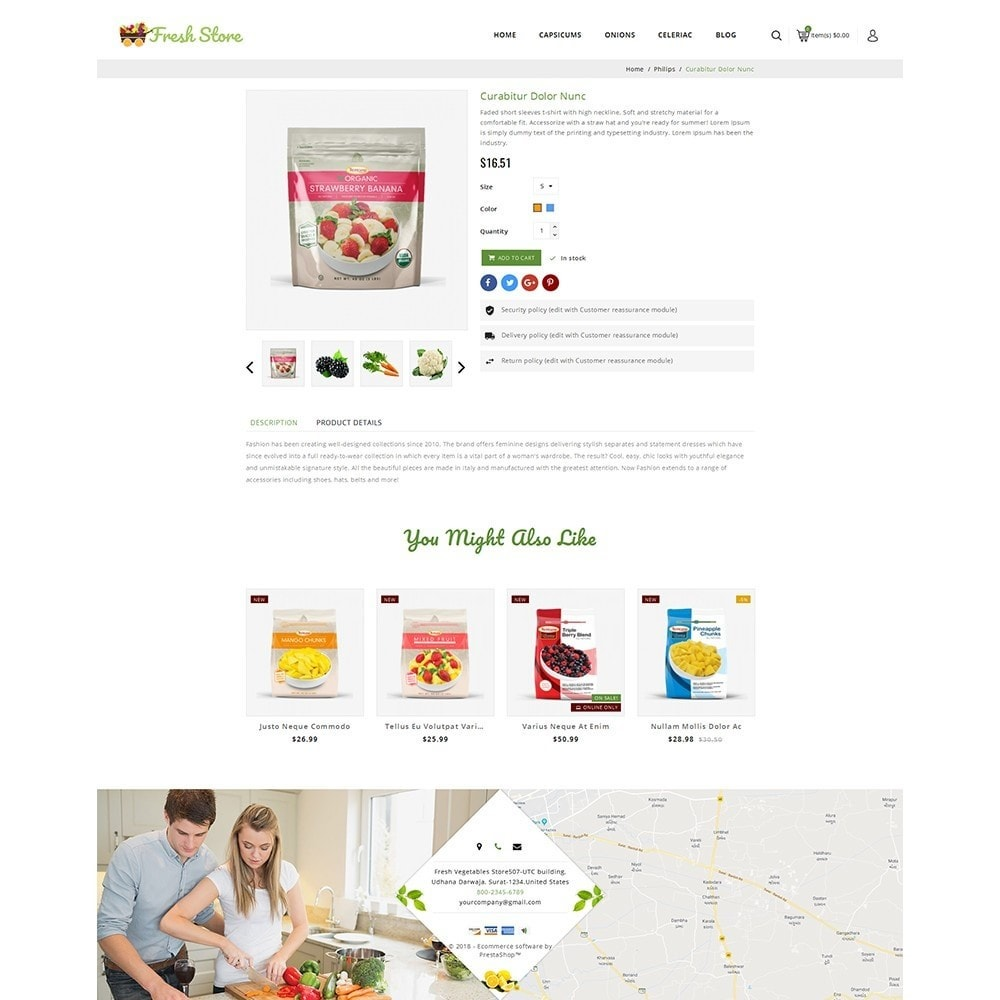 theme - Lebensmittel & Restaurants - Fresh Vegetables Store - 5