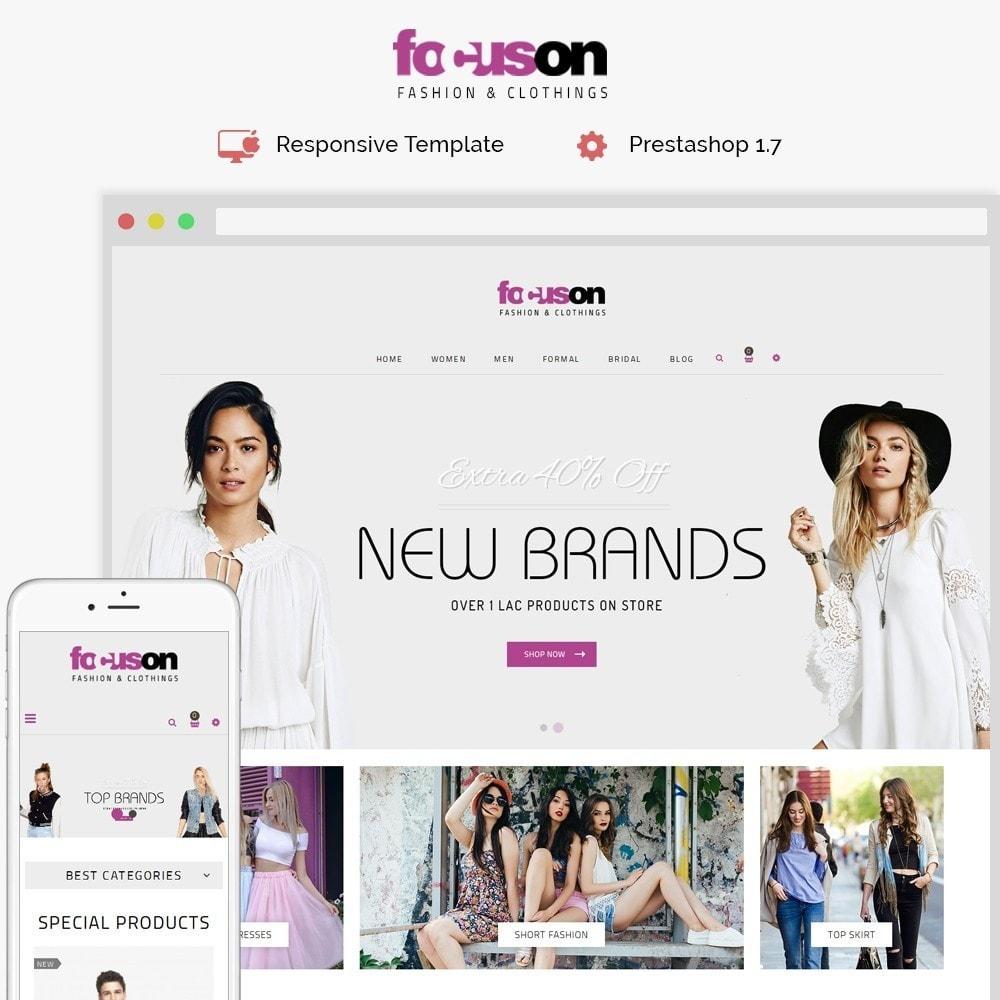 theme - Mode & Chaussures - Focuson Fashion Store - 1