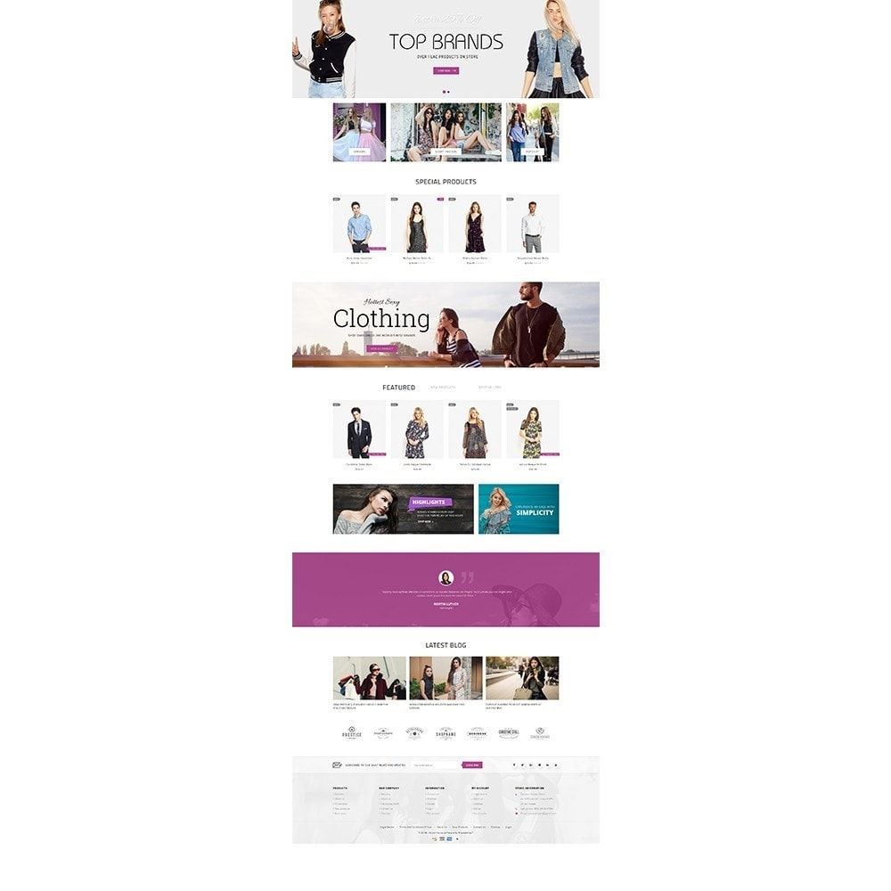 theme - Fashion & Shoes - Focuson Fashion Store - 2
