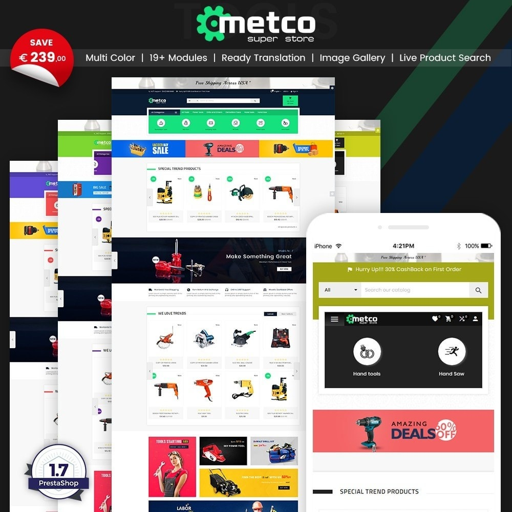 theme - Auto & Moto - Metco – Tools and Machine Super Store - 1