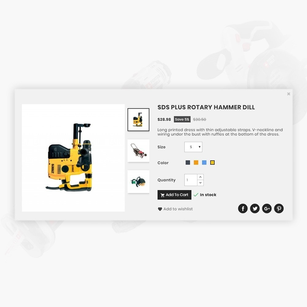 theme - Auto's & Motoren - Metco – Tools and Machine Super Store - 14
