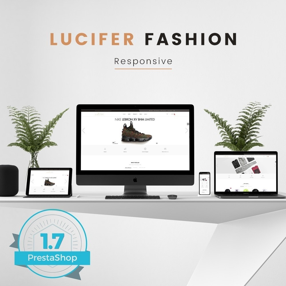 theme - Mode & Chaussures - Lucifer Fashion - Prestashop 1.7 - 1