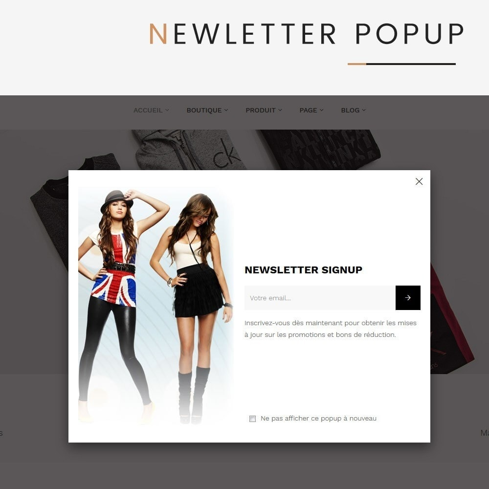 theme - Mode & Chaussures - Lucifer Fashion - Prestashop 1.7 - 8