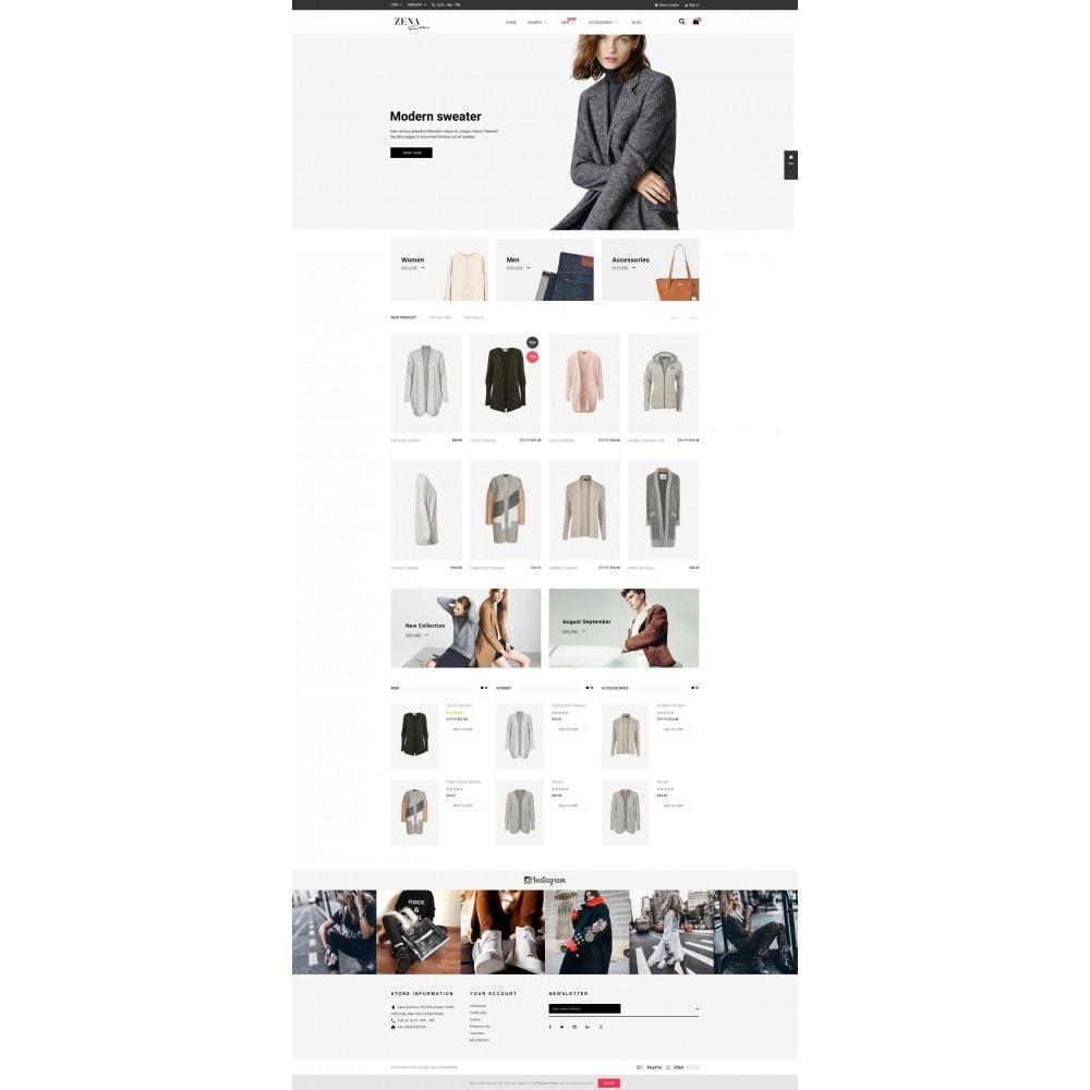 theme - Moda y Calzado - Zena Fashion - 2