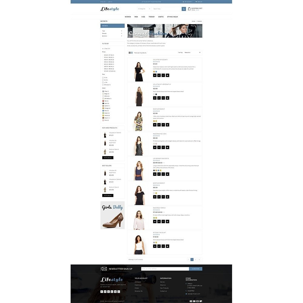 theme - Mode & Chaussures - Lifestyle Store - 4