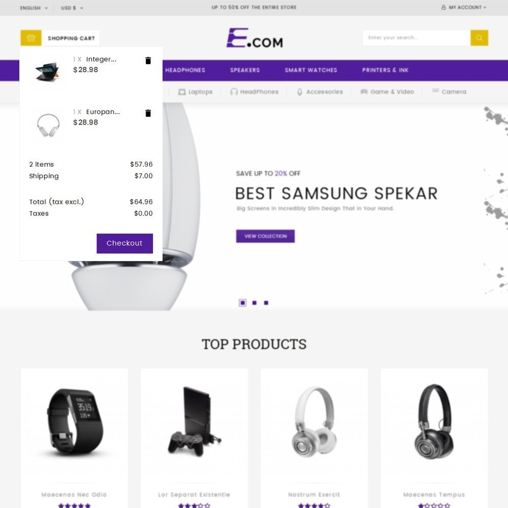 theme - Elektronica & High Tech - E-com Electronics Store - 8
