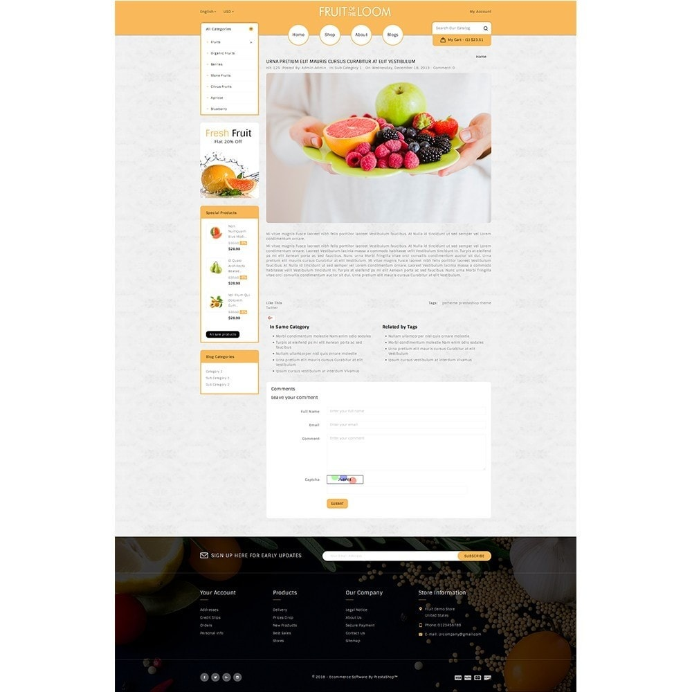 theme - Alimentation & Restauration - Fruits Store - 6