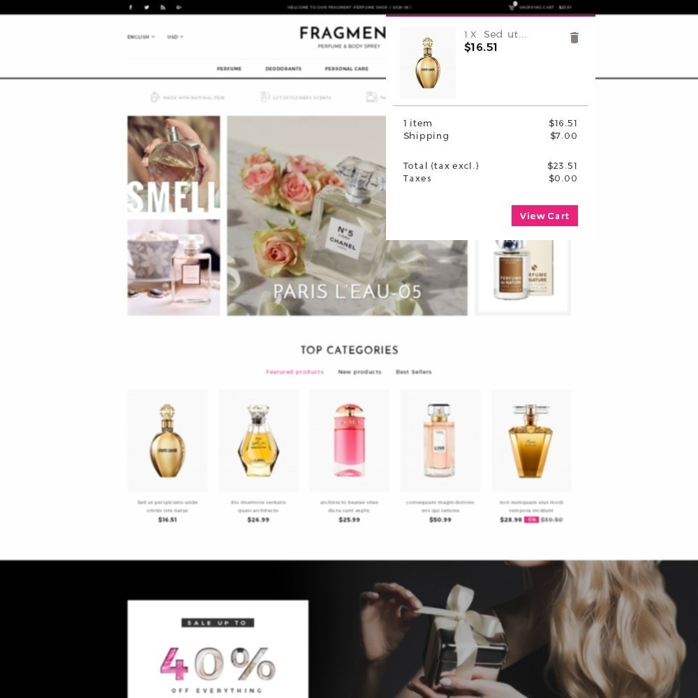 theme - Здоровье и красота - Fragment Perfume Store - 8