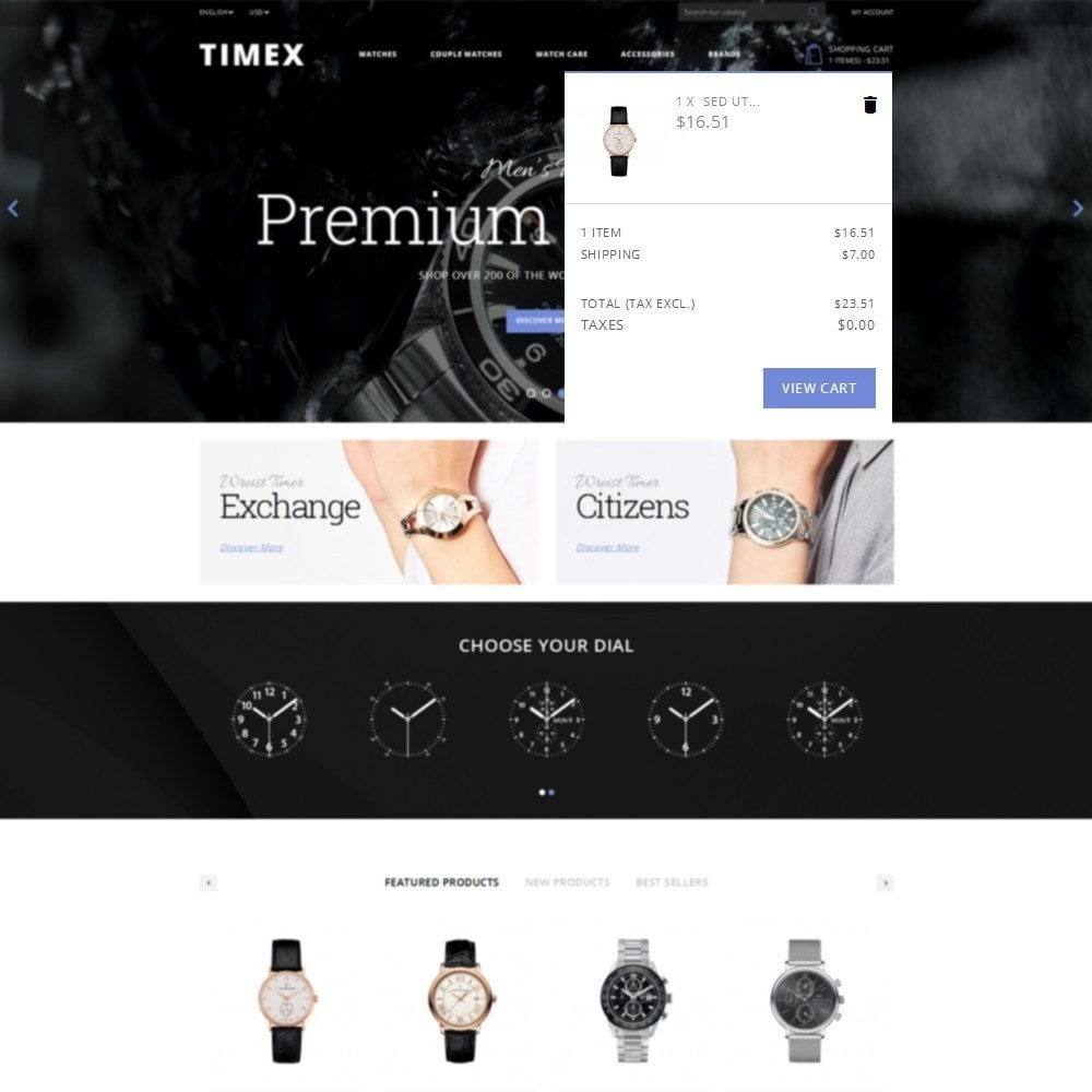 theme - Schmuck & Accesoires - Timex Watch Store - 8