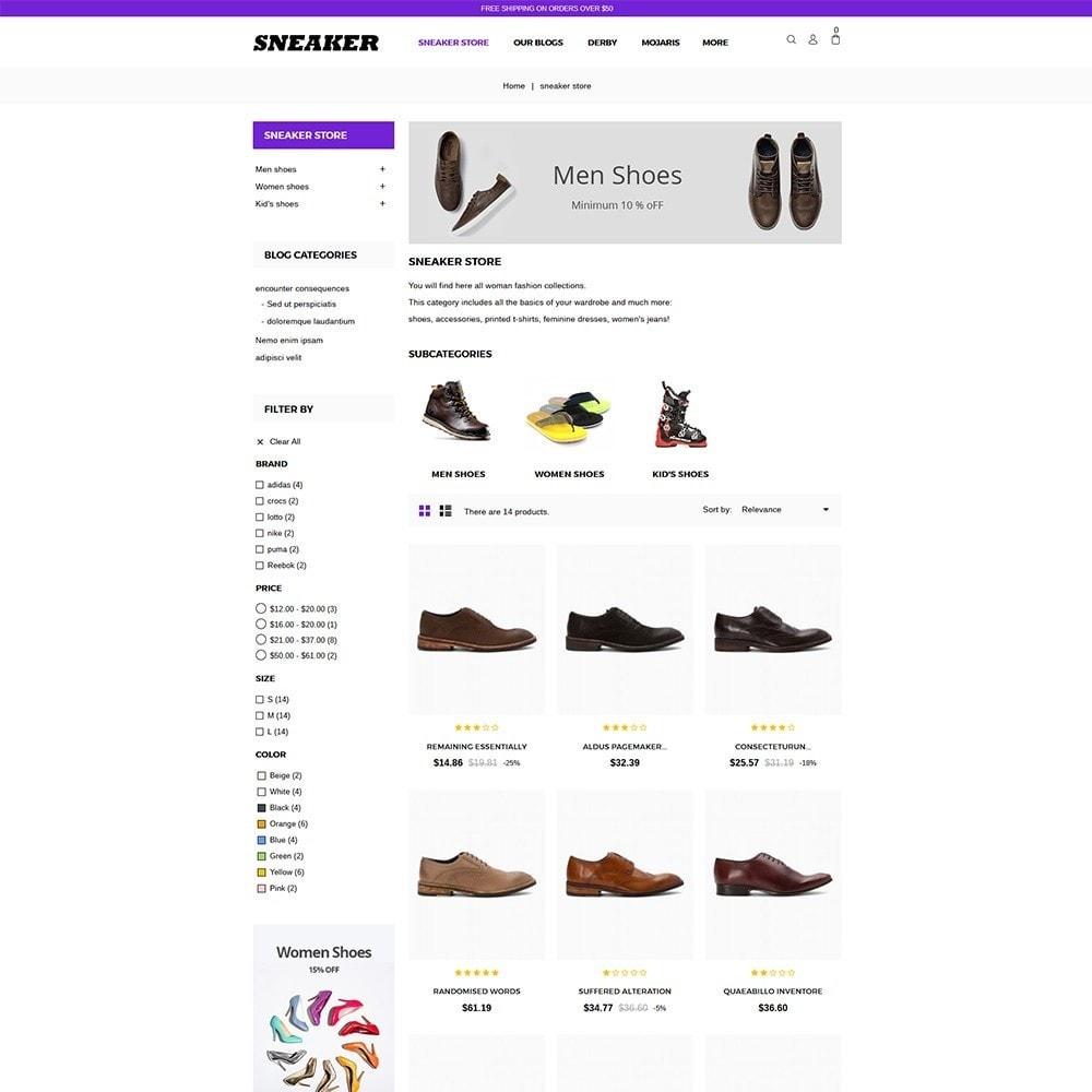 theme - Moda y Calzado - Sneaker Shoe Store - 5