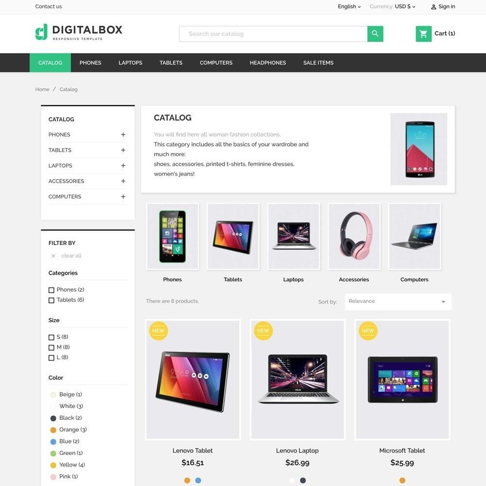 theme - Electrónica e High Tech - Digitalbox Electronics Store - 5