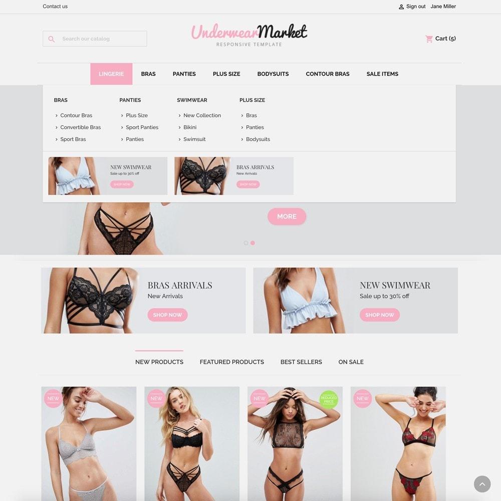 theme - Lingerie & Adulte - Underwear Market - 3