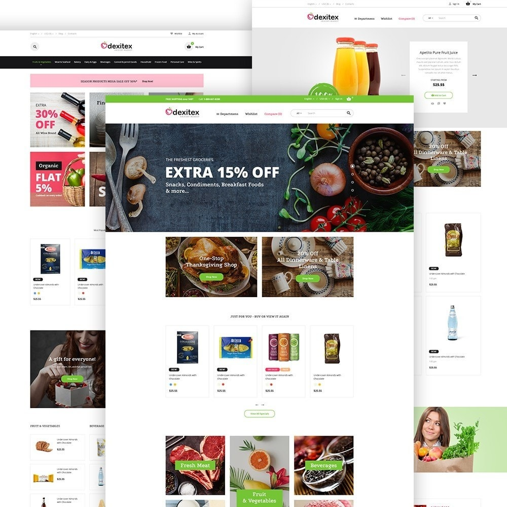 theme - Lebensmittel & Restaurants - Dexitex - Grocery Market - 2