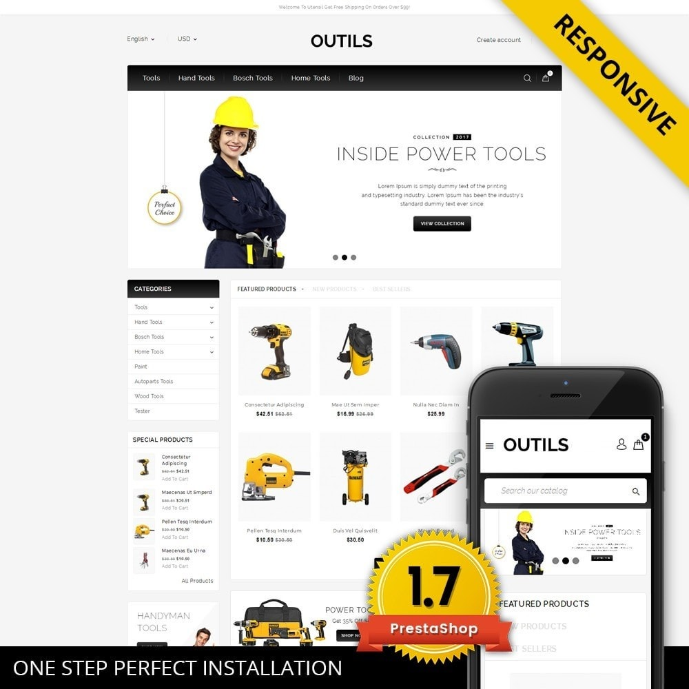 theme - Elektronica & High Tech - Outils - Tools Shop - 1