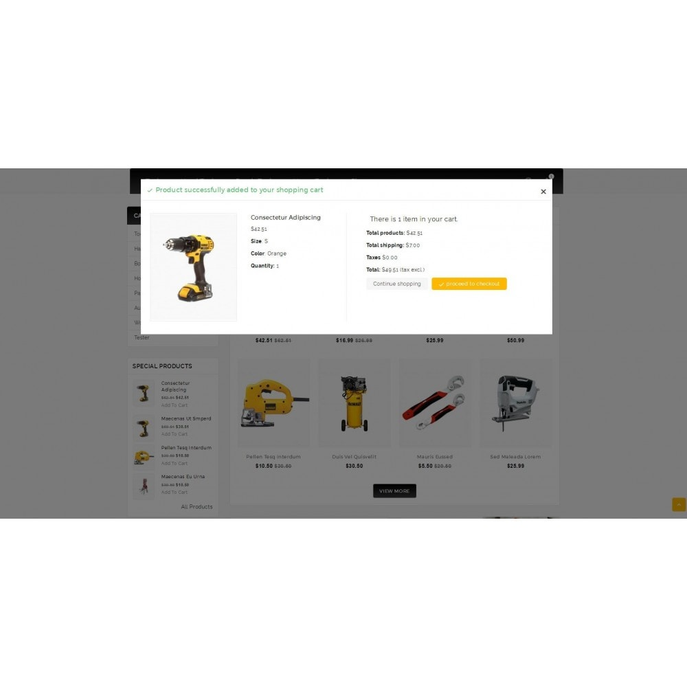 theme - Electrónica e High Tech - Outils - Tools Shop - 6