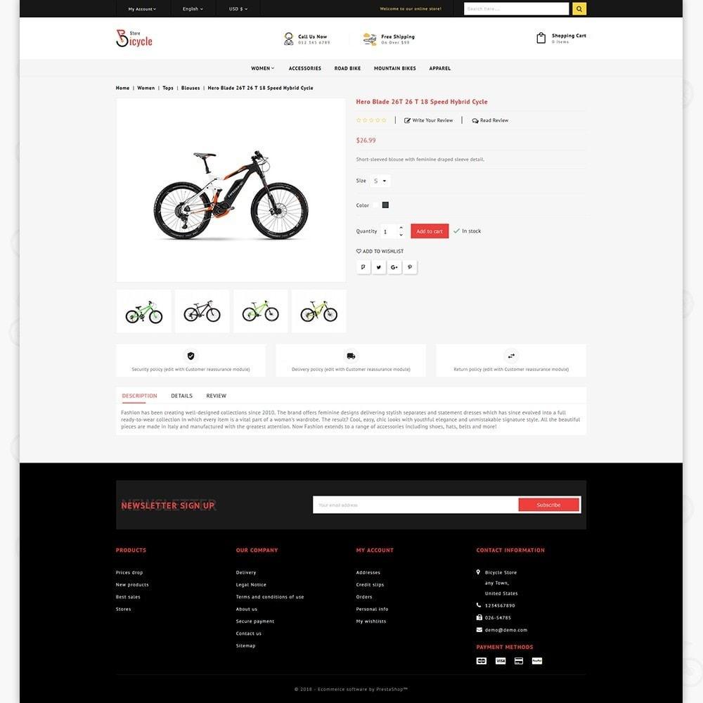 theme - Sport, Rozrywka & Podróże - Bicycle Sports Store - 5