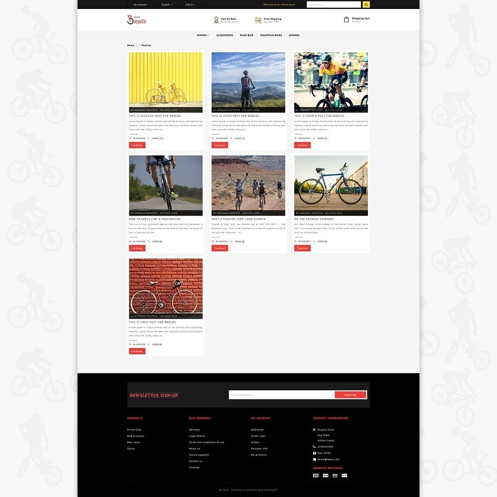 theme - Sport, Loisirs & Voyage - Bicycle Sports Store - 6