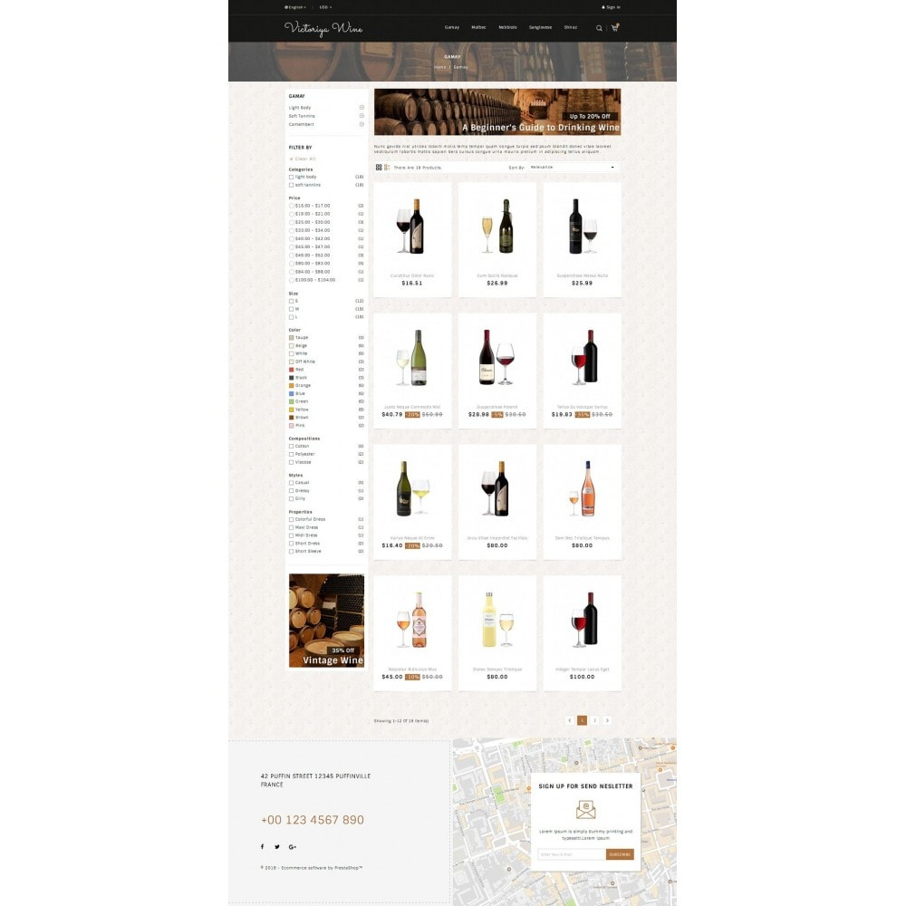 theme - Getränke & Tabak - Victoriya Wine Shop - 3
