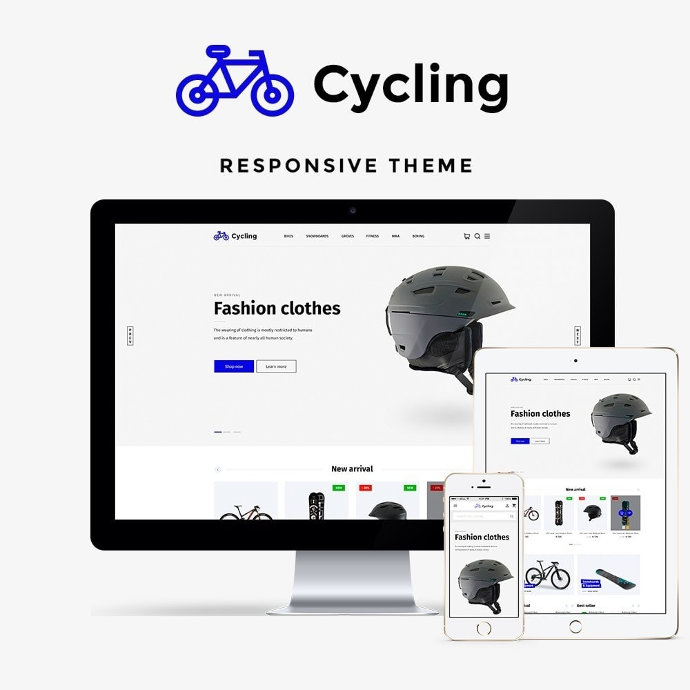 theme - Sports, Activities & Travel - Cycling - 1