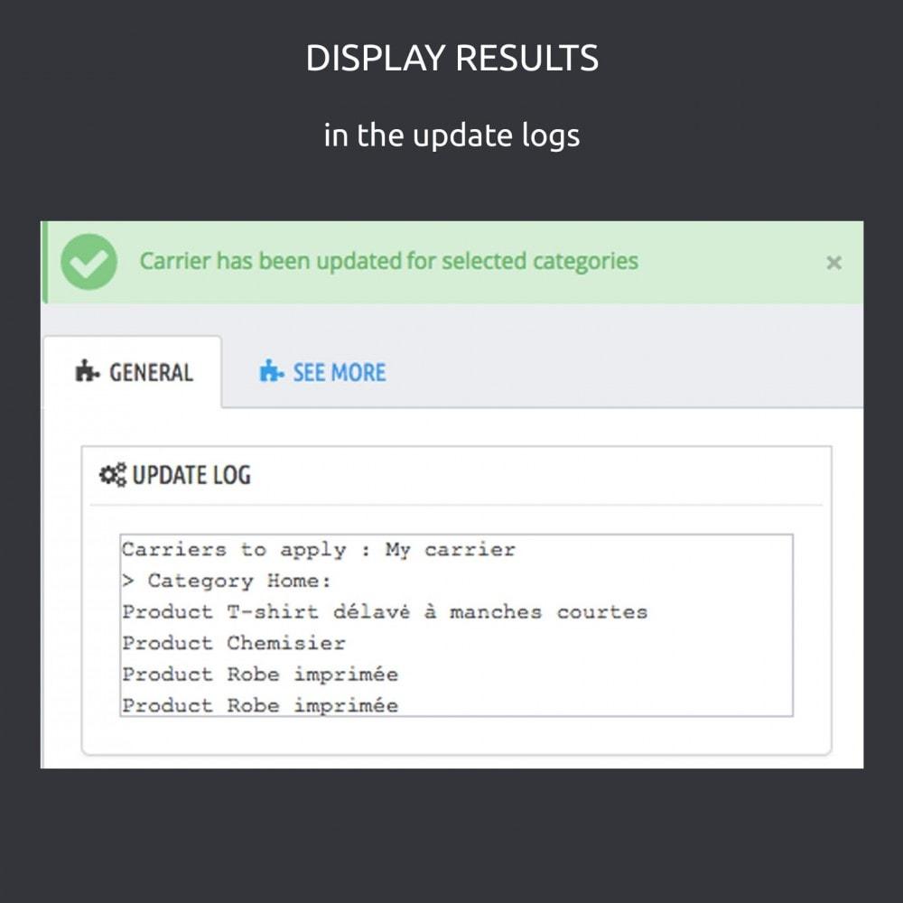 module - Modifica rapida & di massa - Quickly change carriers by categories: PS 1.5 - 1.7 - 6