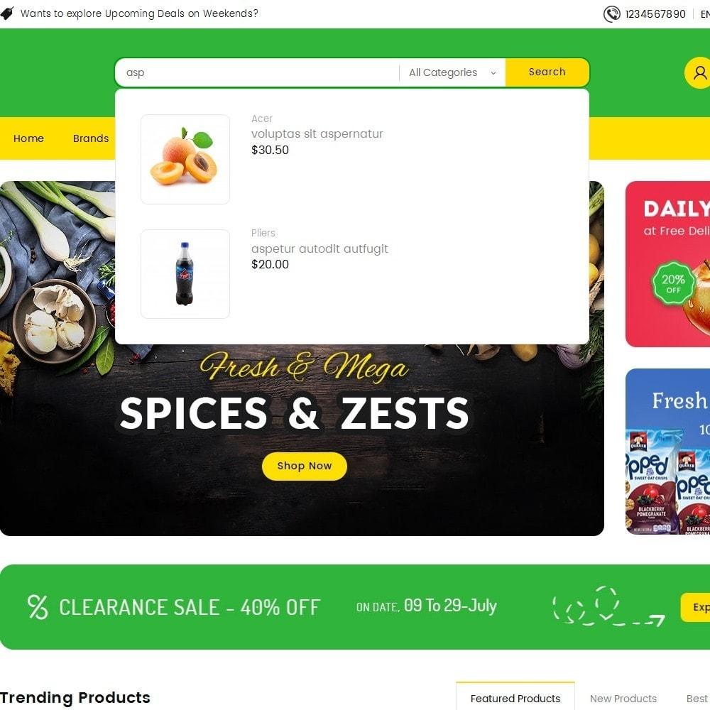 theme - Eten & Restaurant - Mega Trone Grocery - 10