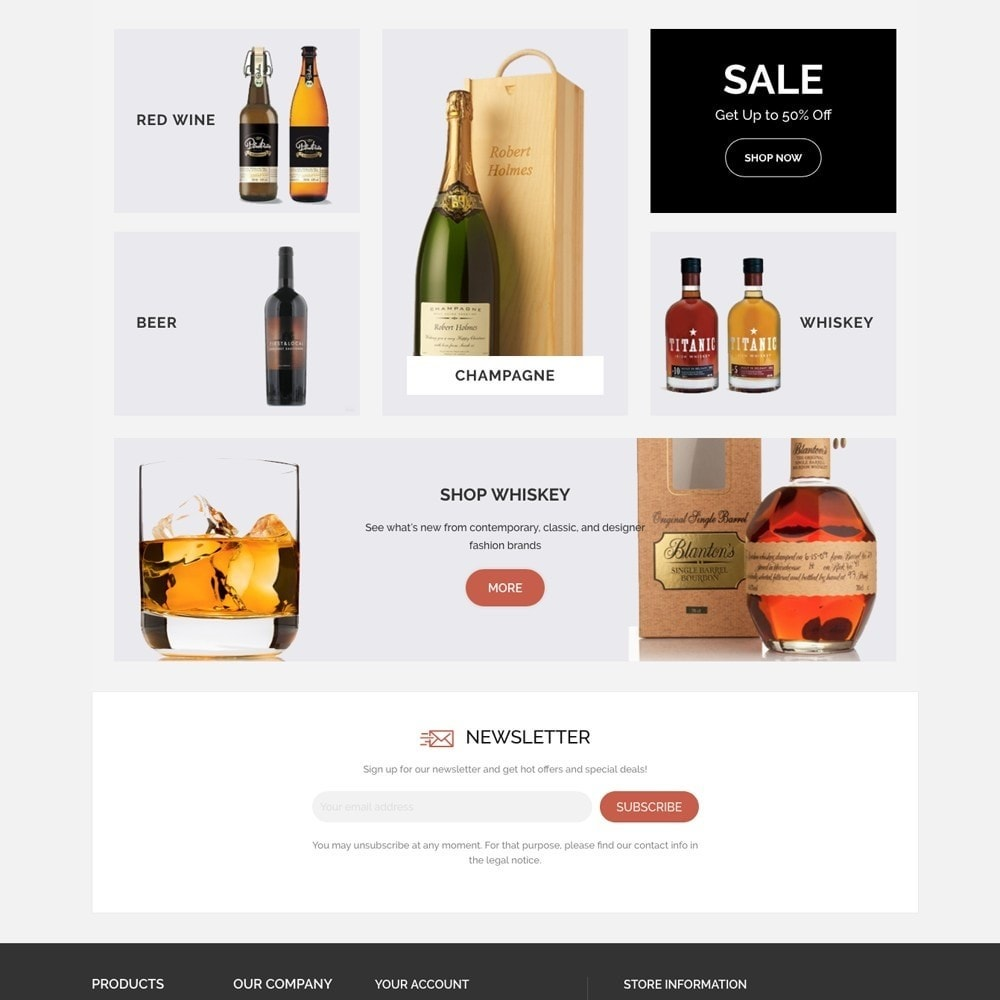 theme - Boissons & Tabac - WINESHOP - 2