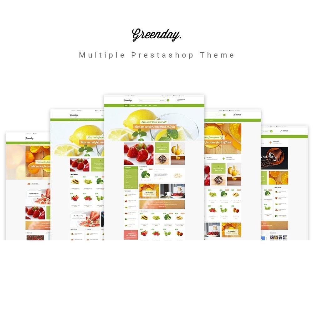 theme - Продовольствие и рестораны - Leo Green  Fresh Food store - 1