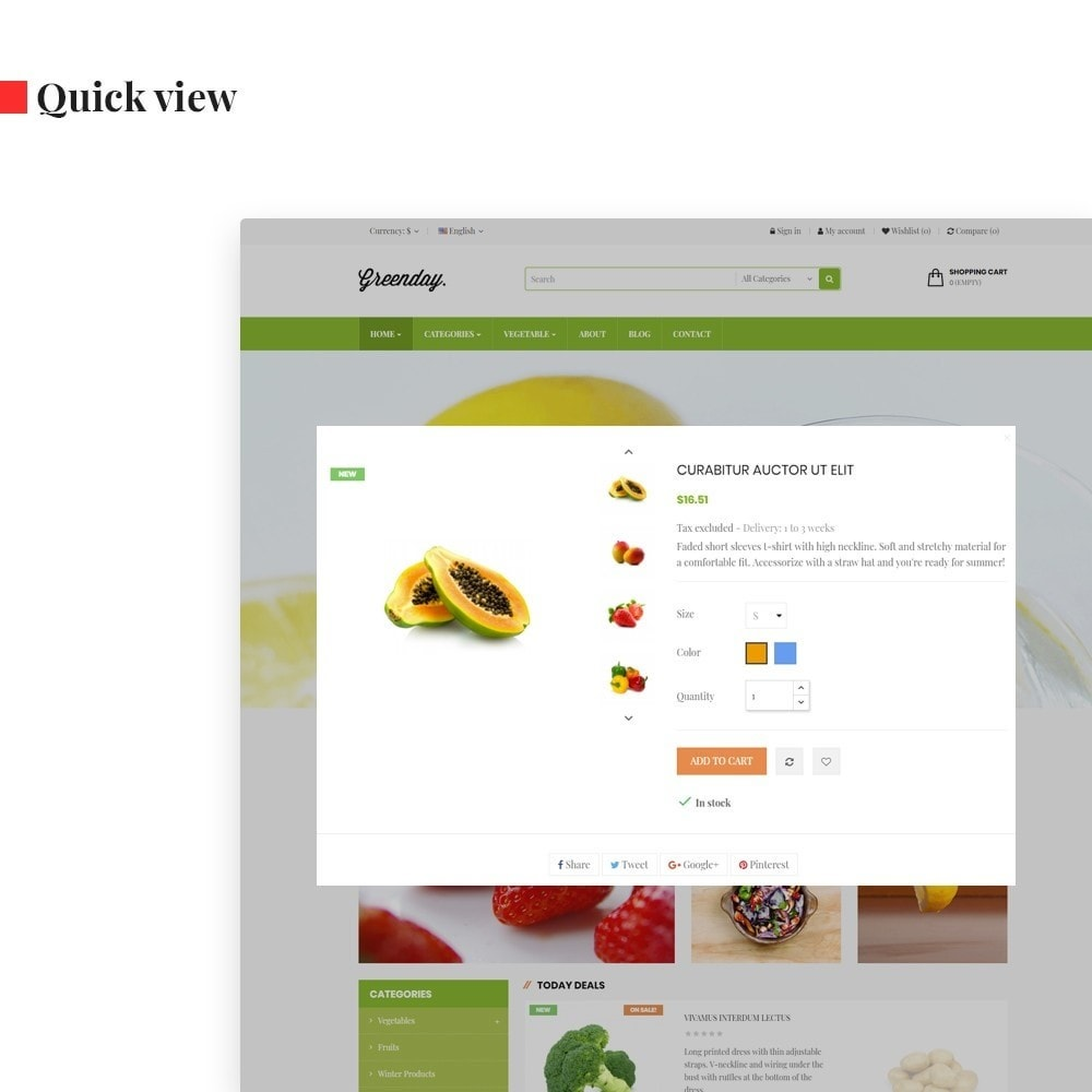 theme - Food & Restaurant - Leo Green - 6
