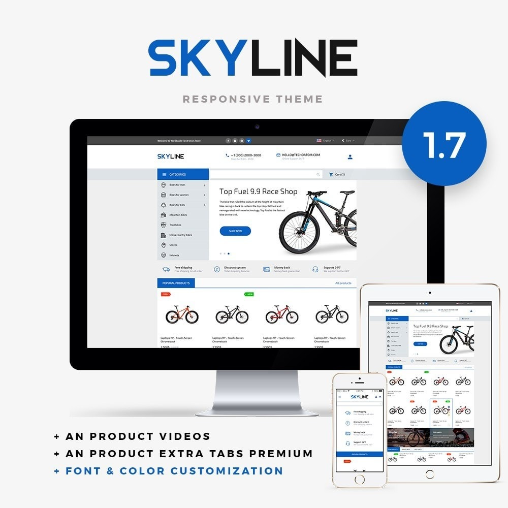theme - Sports, Activities & Travel - SkyLine - 1