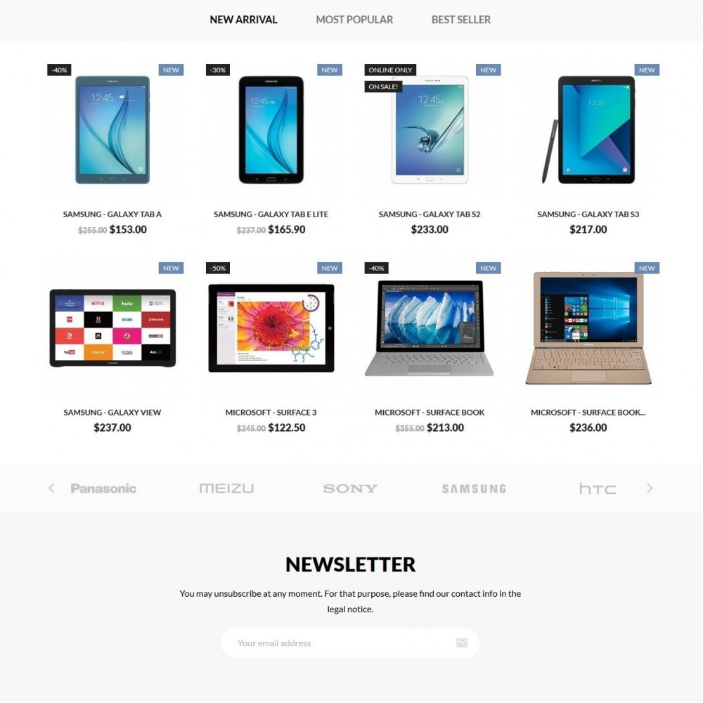 theme - Электроника и компьютеры - Booom box - High-tech Shop - 3