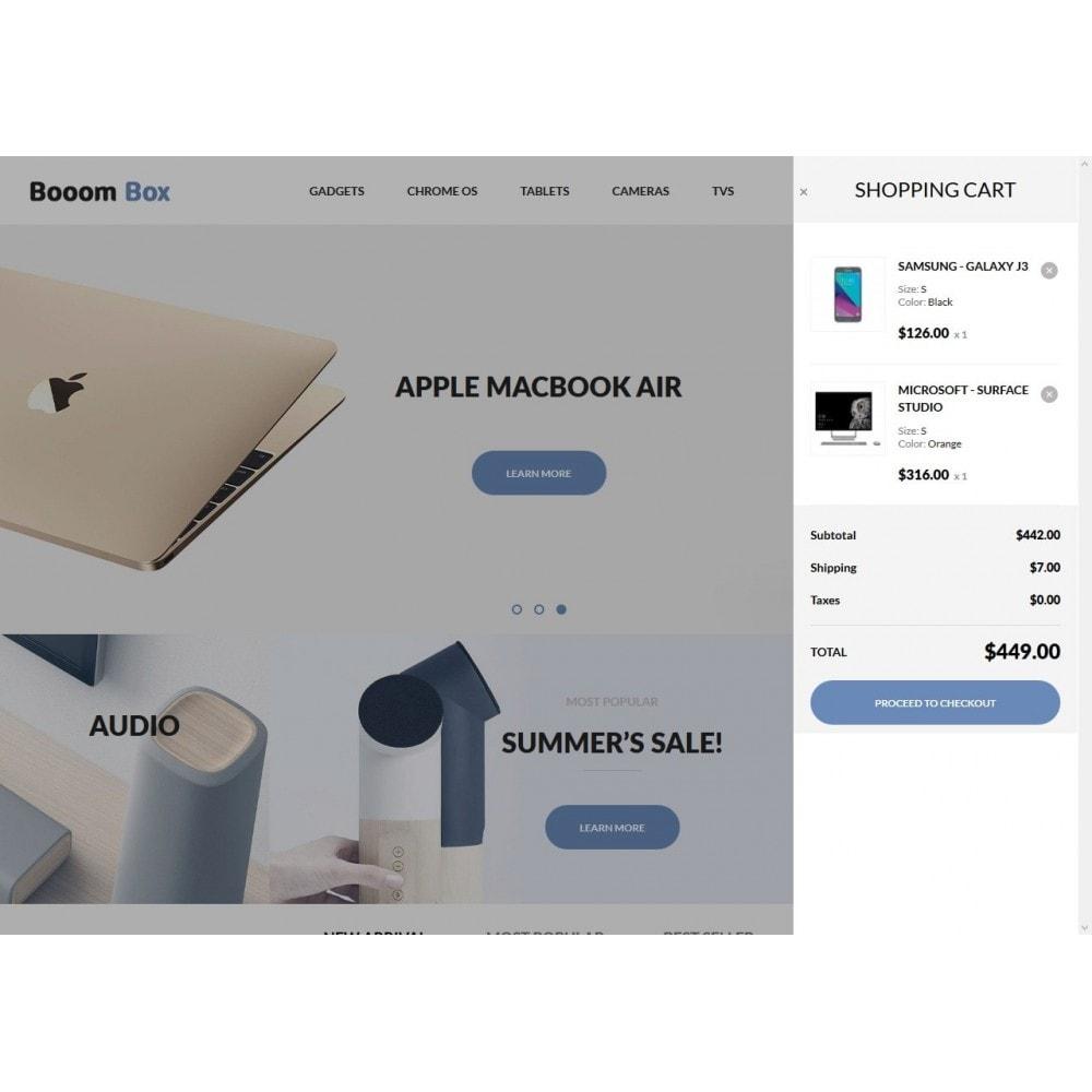 theme - Электроника и компьютеры - Booom box - High-tech Shop - 7
