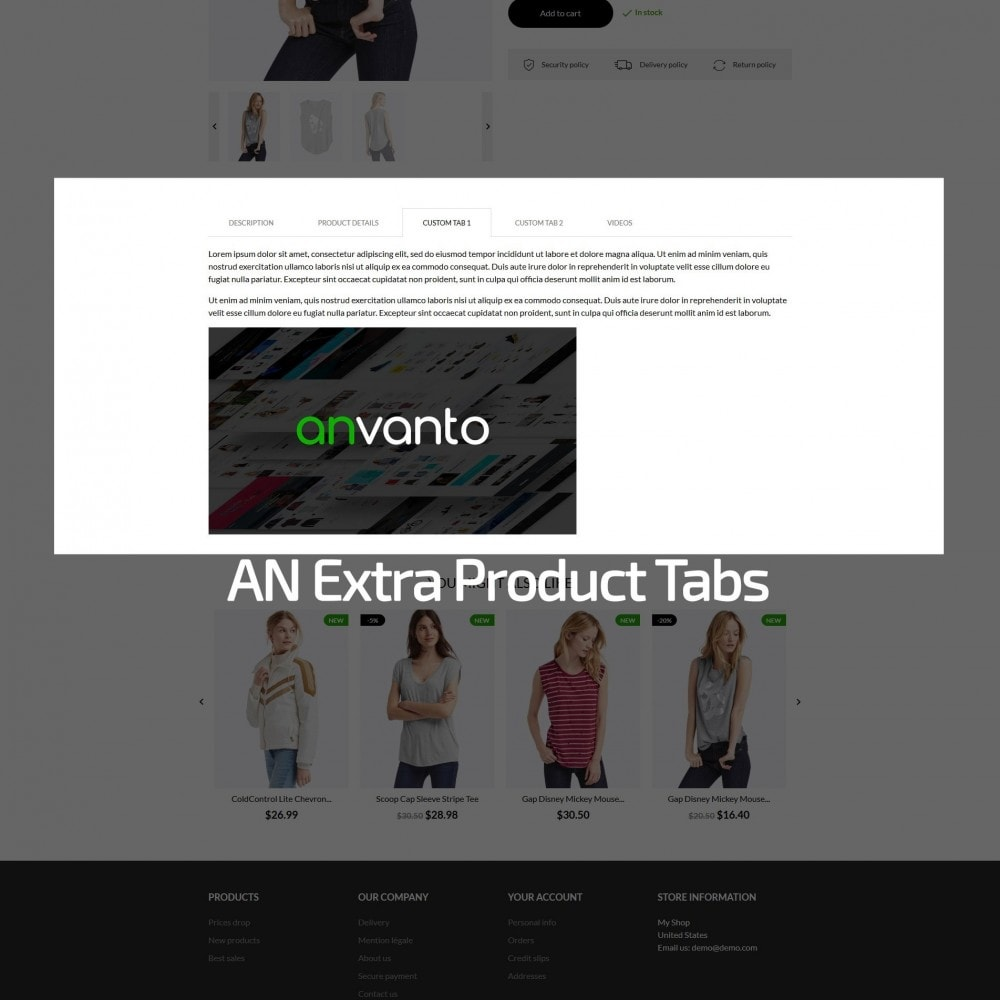theme - Mode & Chaussures - Sheeba Fashion Store - 8