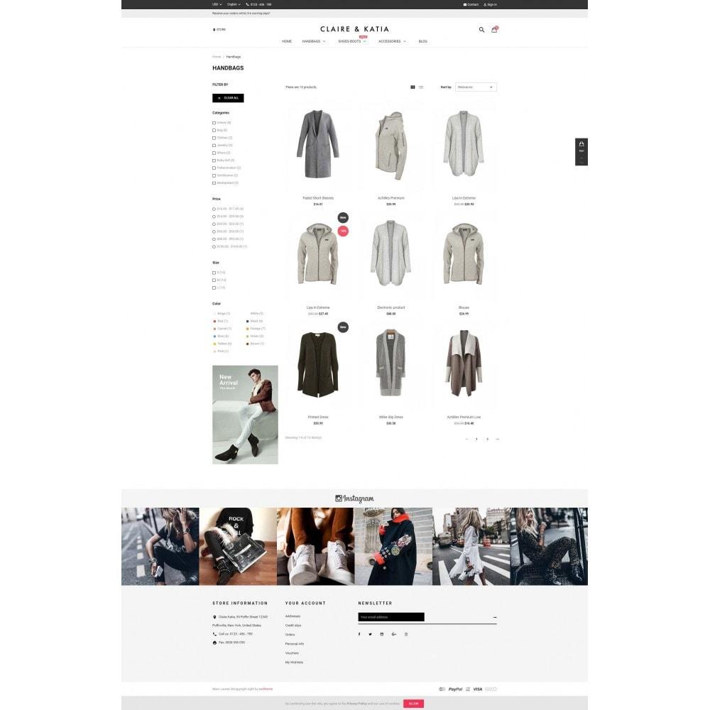 theme - Мода и обувь - Claire & Katia - 3
