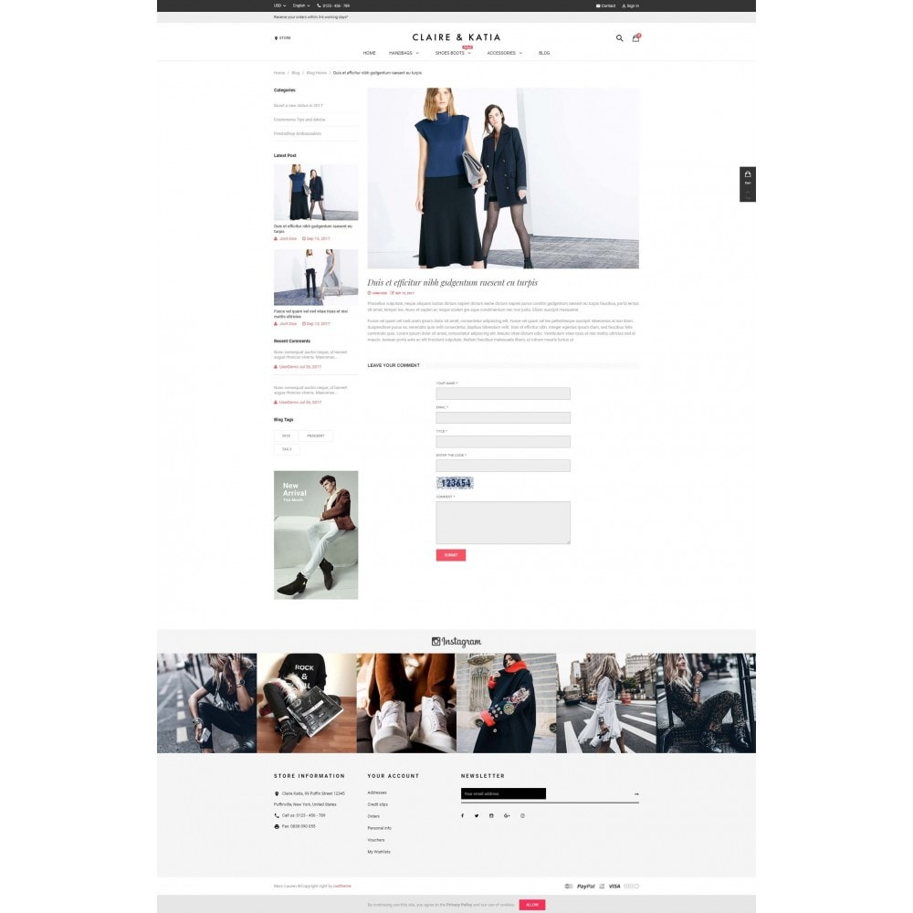 theme - Мода и обувь - Claire & Katia - 5
