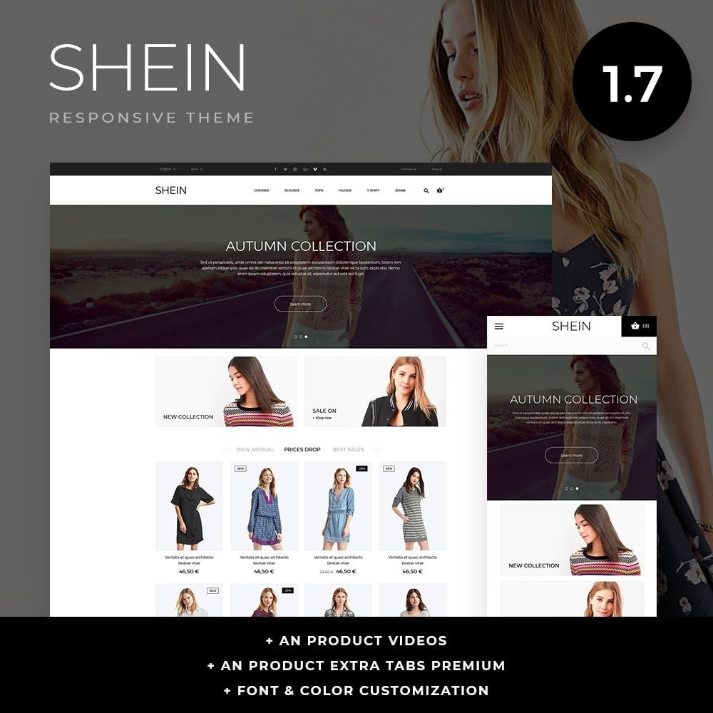 theme - Moda & Obuwie - Shein Fashion Store - 1
