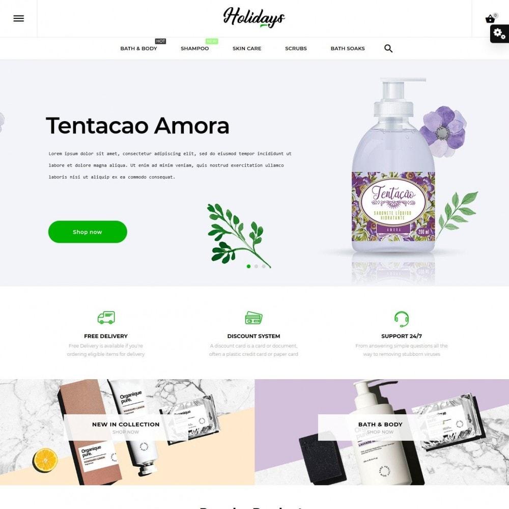 theme - Saúde & Beleza - Holidays Cosmetics - 2