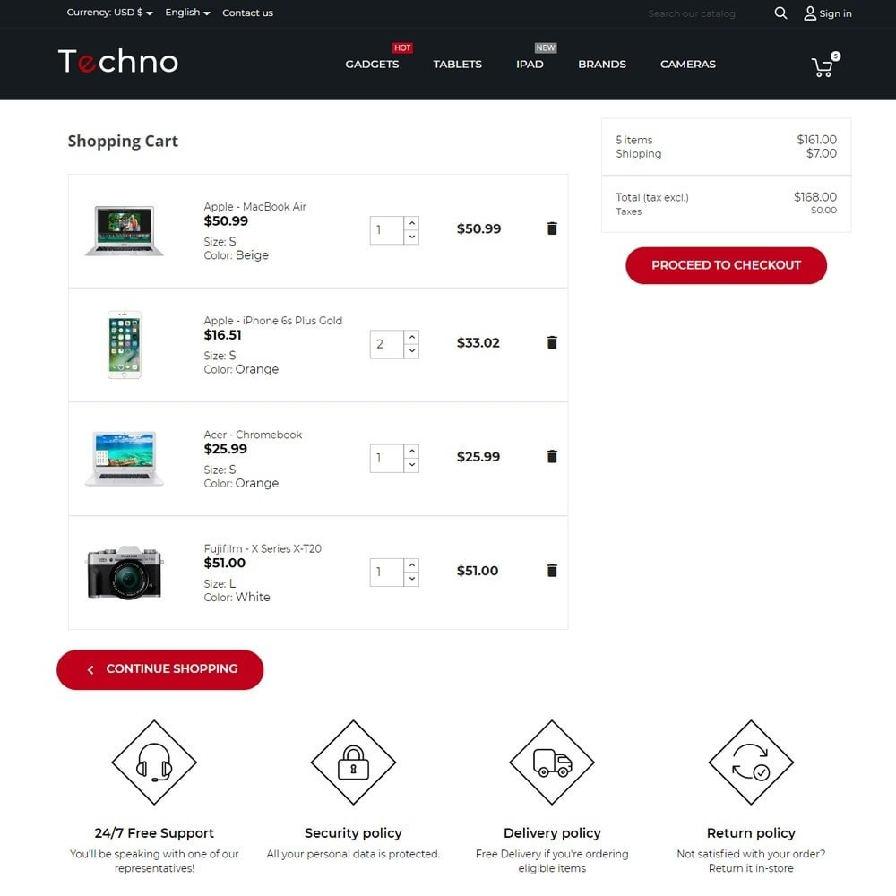 theme - Electronics & Computers - Techno - High-tech Shop - 8