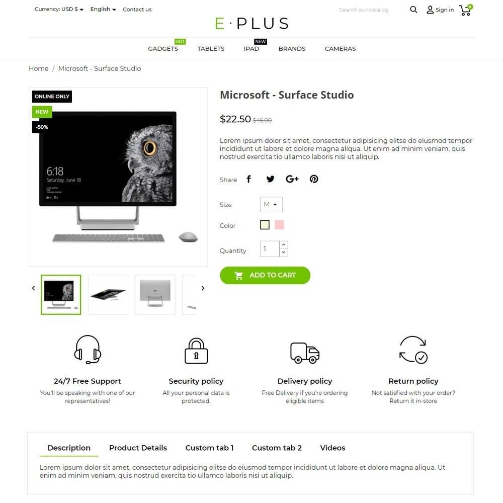 theme - Elektronica & High Tech - E-Plus - 5