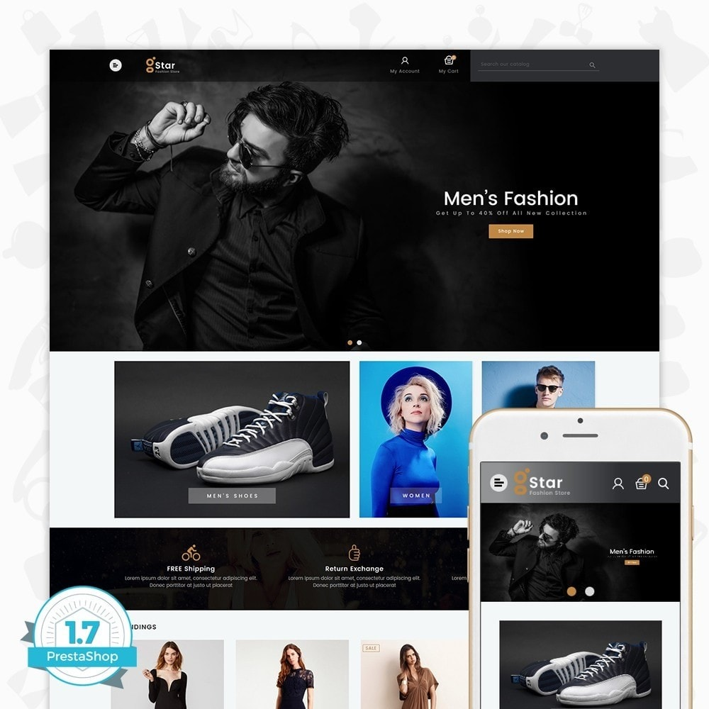 theme - Moda y Calzado - gStar - The Fashion Store - 1