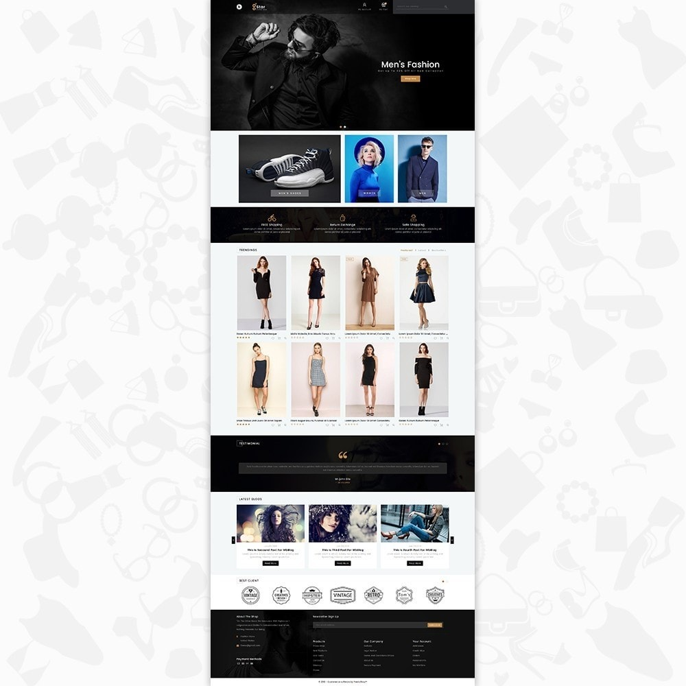 theme - Moda y Calzado - gStar - The Fashion Store - 2