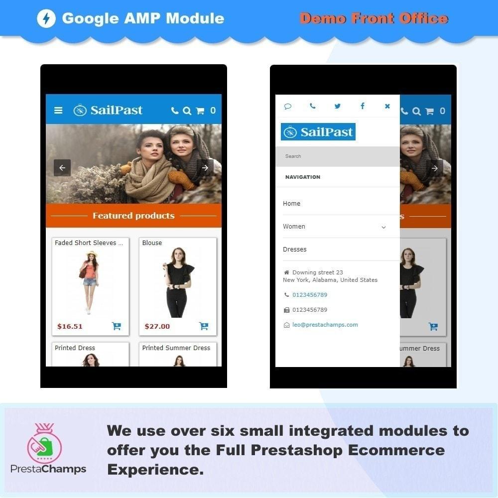 module - Performance du Site - PAGES AMP PROFESSIONNELLES - PAGES MOBILES ACCÉLÉRÉES - 2