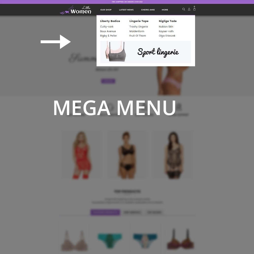 theme - Нижнее белье и товары для взрослых - Little Women Lingerie Shop - 10