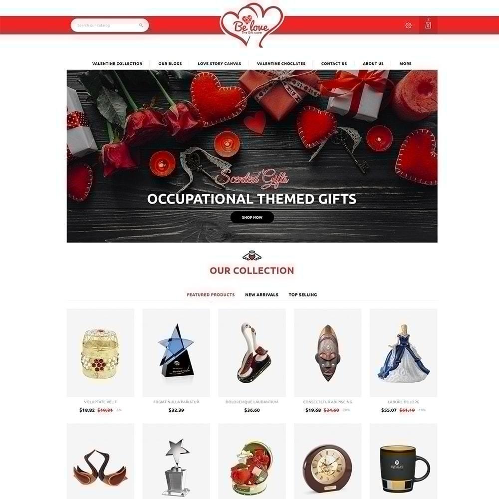theme - Presentes, Flores & Comemorações - Belove Valentine Gift Shop - 2