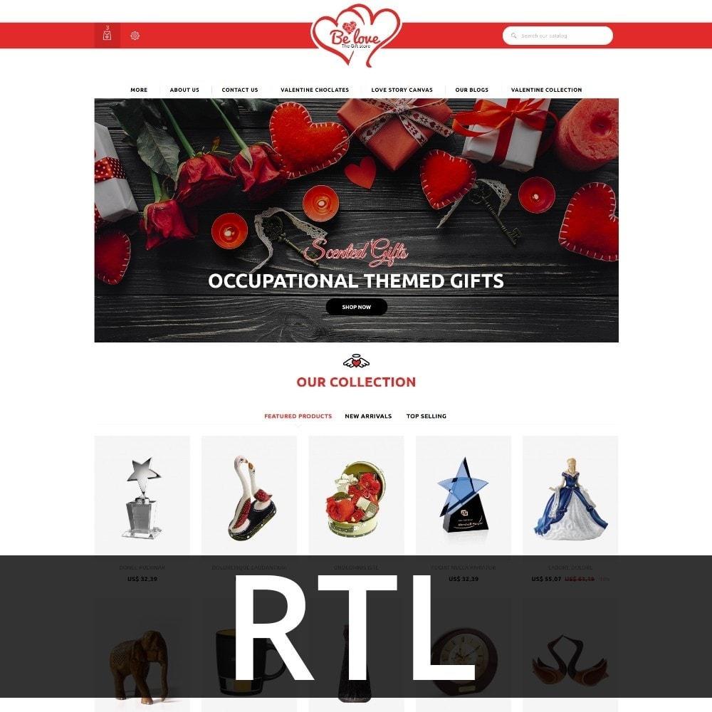 theme - Presentes, Flores & Comemorações - Belove Valentine Gift Shop - 3