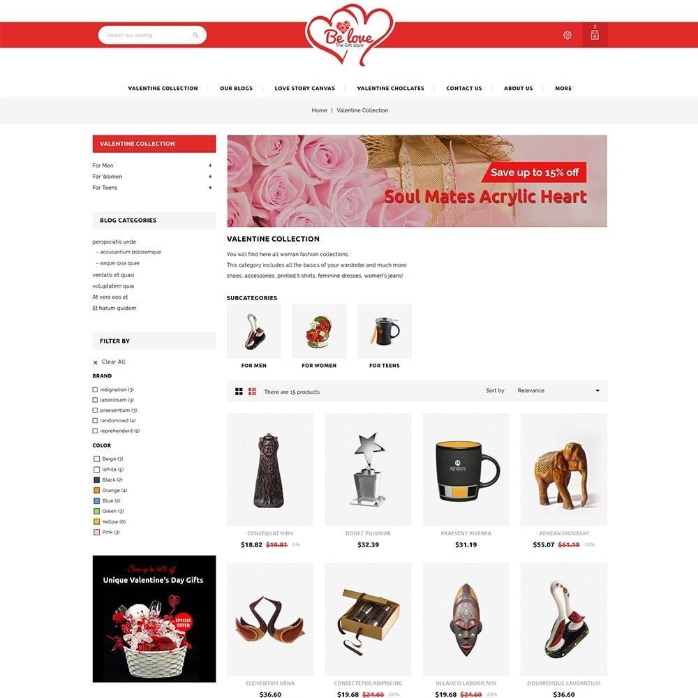 theme - Presentes, Flores & Comemorações - Belove Valentine Gift Shop - 4