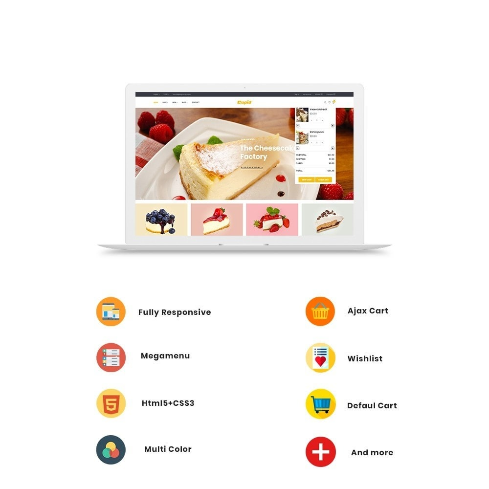 theme - Alimentation & Restauration - Ap Cupid - 3