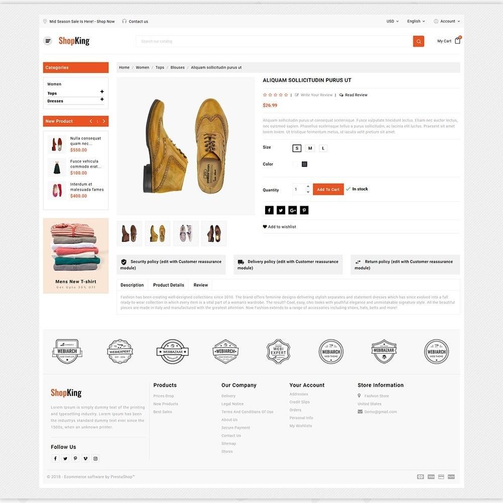 theme - Fashion & Shoes - ShopKing - The Fashion Store - 5