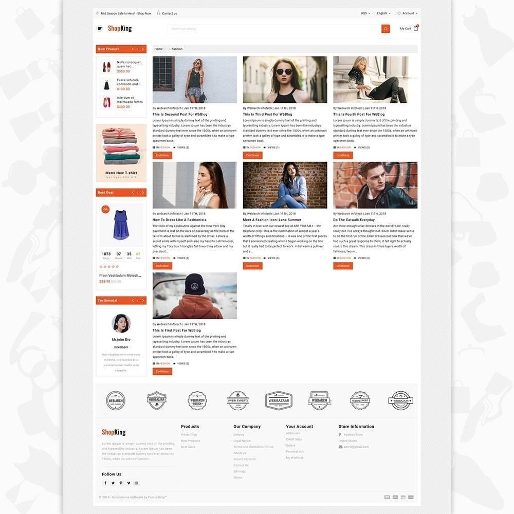 theme - Fashion & Shoes - ShopKing - The Fashion Store - 6